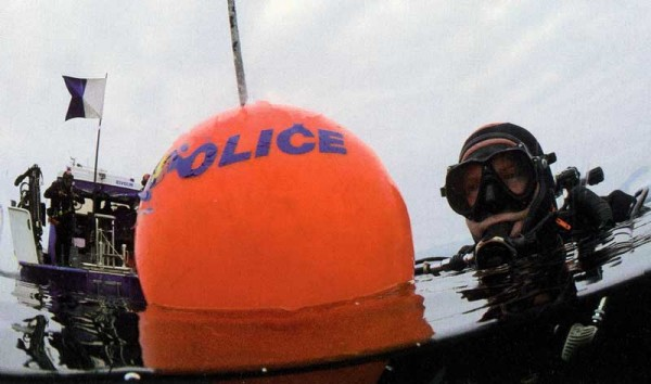 Plongeurs de la gendarmerie de Genève