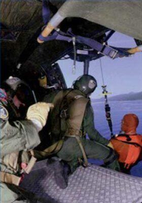 Sauveteurs-Plongeurs héliportés de l'Armée de l'air
