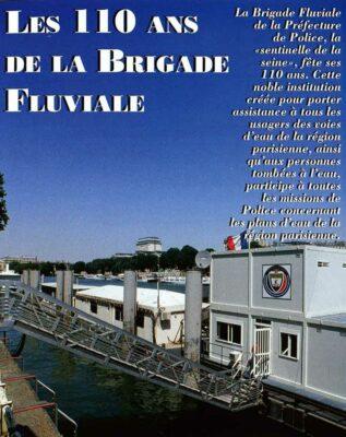 Policiers-plongeurs de la Brigade fluviale