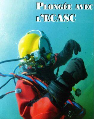 En plongée avec l'ECASC Sécurité Civile