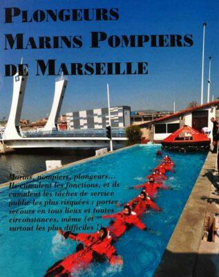 Plongée avec les plongeurs Marins Pompiers de Marseille